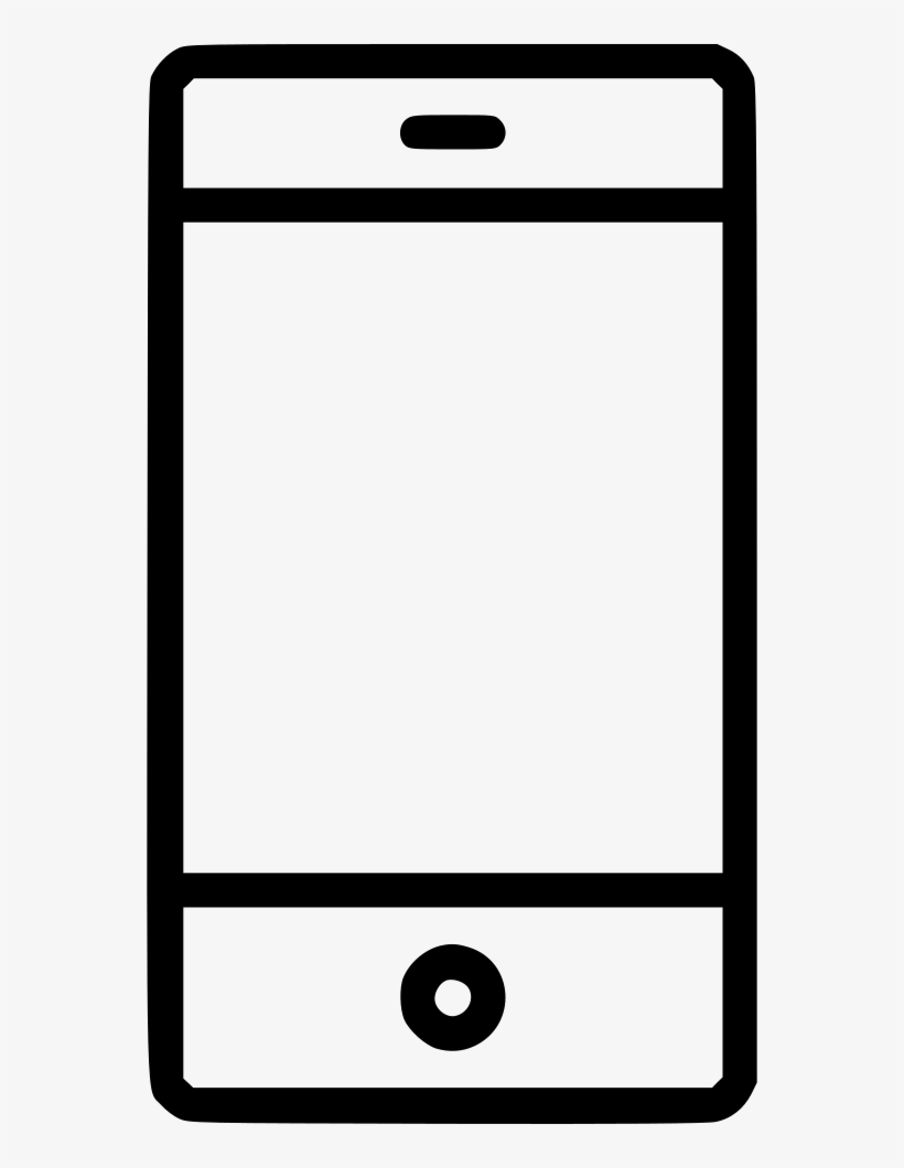 Library of smartphone graphic library stock black and ...