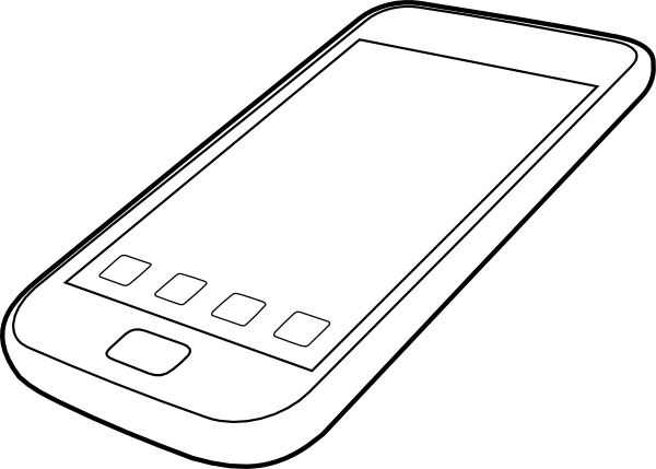 Smartphone clipart black and white clip art royalty free download Free Smartphones Cliparts, Download Free Clip Art, Free Clip ... clip art royalty free download