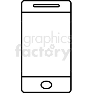 Smartphone outline clipart picture library download smartphone outline vector design no background clipart. Royalty-free  clipart # 408704 picture library download