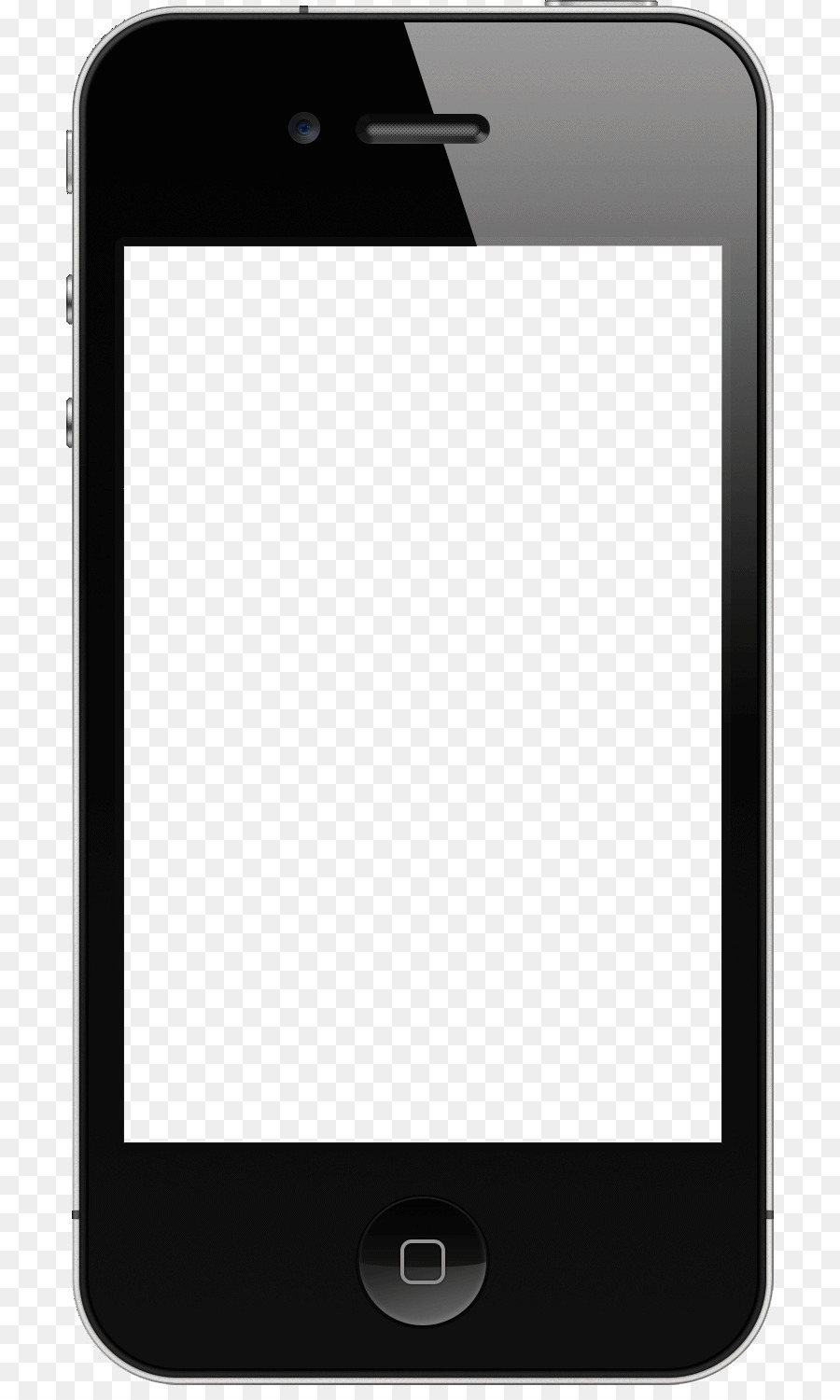 Library of smartphone transparent clipart black and white ...