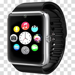 Smartwatch turned clipart svg jpg black and white library Apple Watch Series 2 Smartwatch Mobile app, smart watch ... jpg black and white library