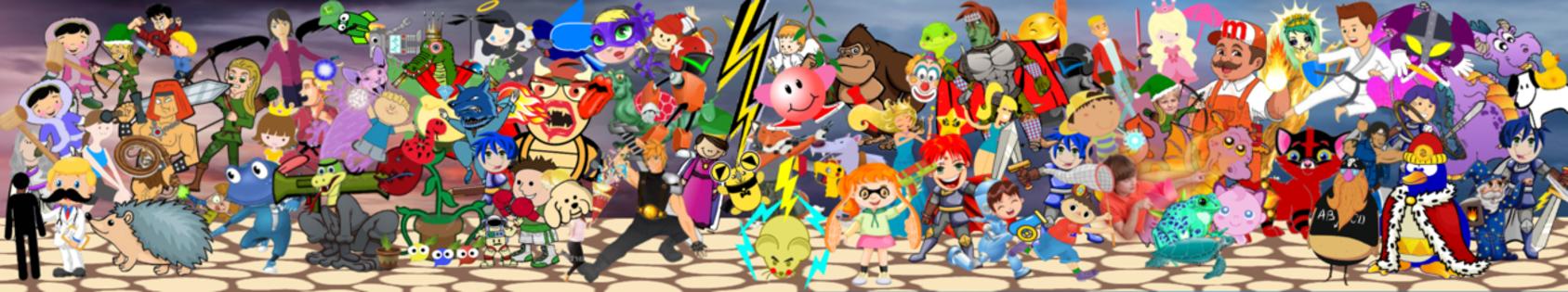 Smash ultimate cliparts image Super Smash Brothers Ultimate Mural Clipart Version | Super ... image