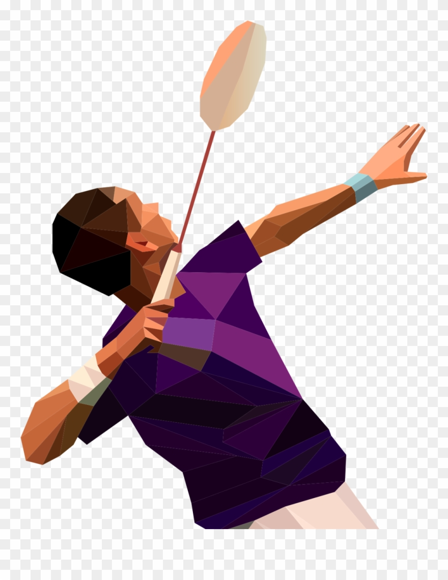 Smashed football player clipart clip art free Psd To Html - Badminton Player Smash Png Clipart (#1403737 ... clip art free