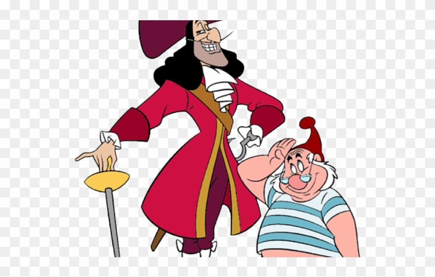 Smee clipart banner free library Crocodile Clipart Disney - Captain Hook And Mr Smee - Png ... banner free library