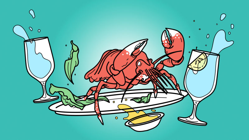 Smell dinner cooking clipart clipart stock Do not consider the lobster clipart stock