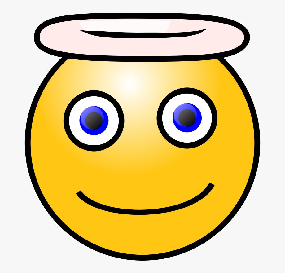 Smiley angel face clipart clipart transparent Smiley Angel Svg Clip Arts 564 X 593 Px - Kind Face Clipart ... clipart transparent
