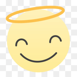 Smiley angel face clipart png library library Angel Face PNG - angel-face-emoticon angel-face-painting ... png library library