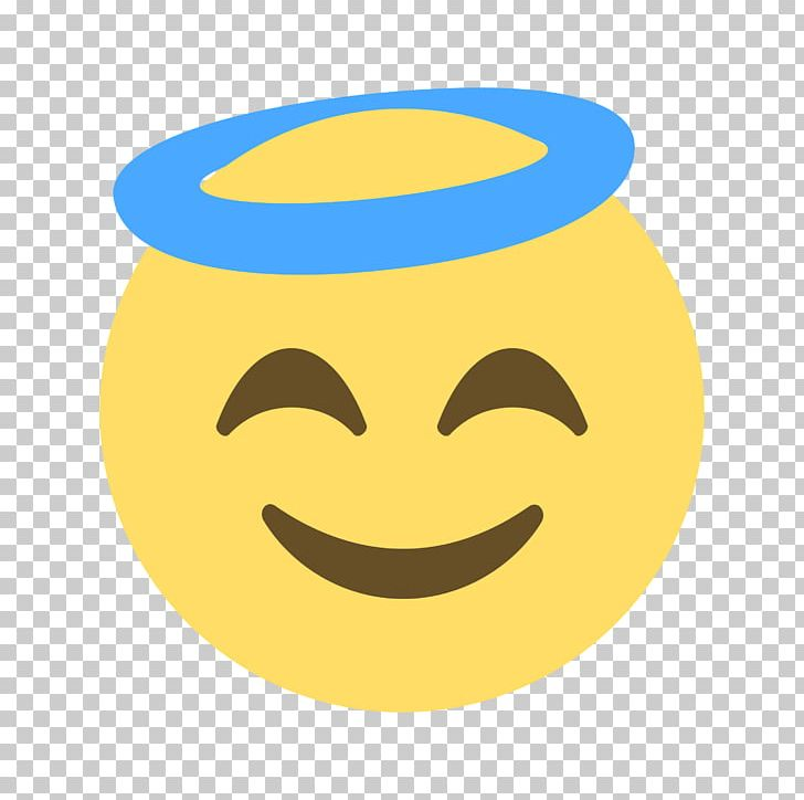 Smiley angel face clipart vector royalty free download Emoji Emoticon Smiley Angel Sticker PNG, Clipart, Angel ... vector royalty free download