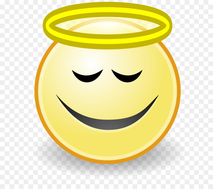 Smiley angel face clipart jpg royalty free download Smiley Face Background png download - 800*800 - Free ... jpg royalty free download
