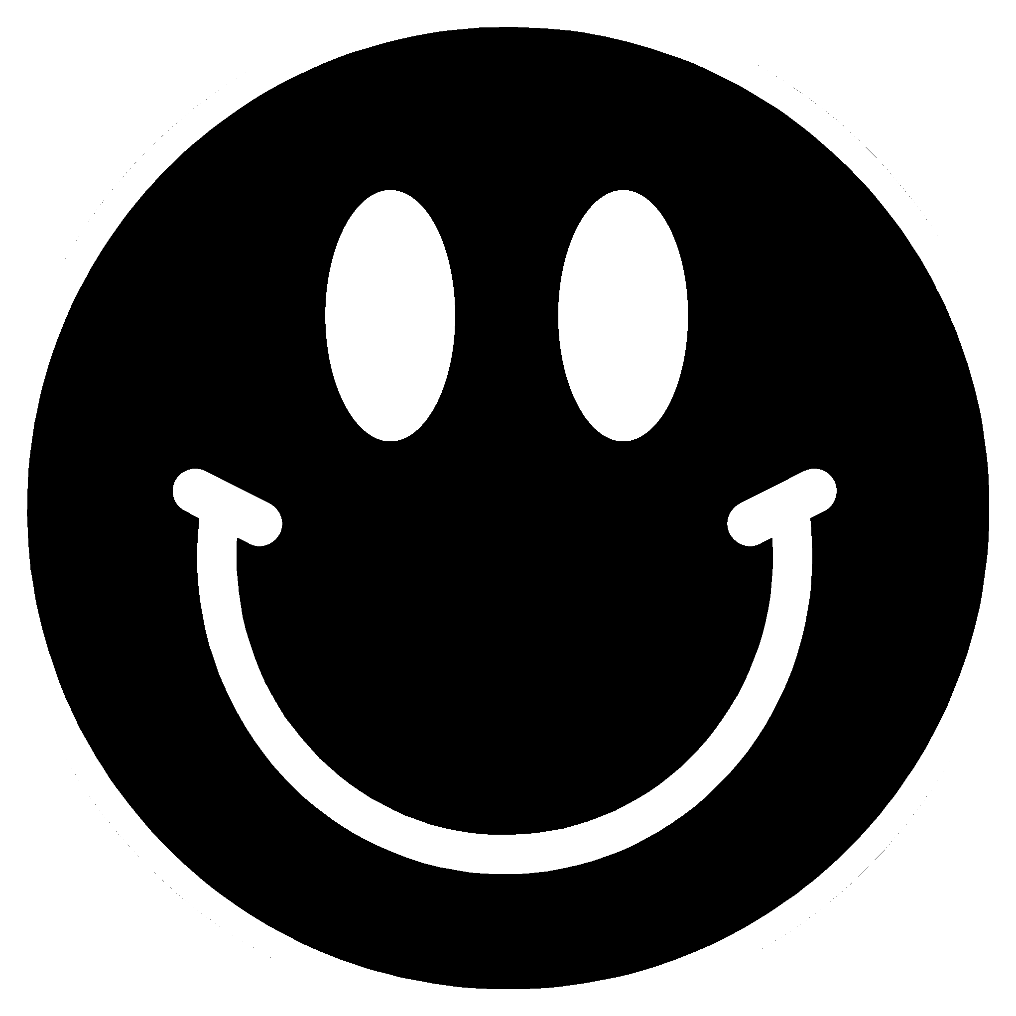 Smiley face clipart black and white no background royalty free stock PNG Happy Face Black And White Transparent Happy Face Black ... royalty free stock