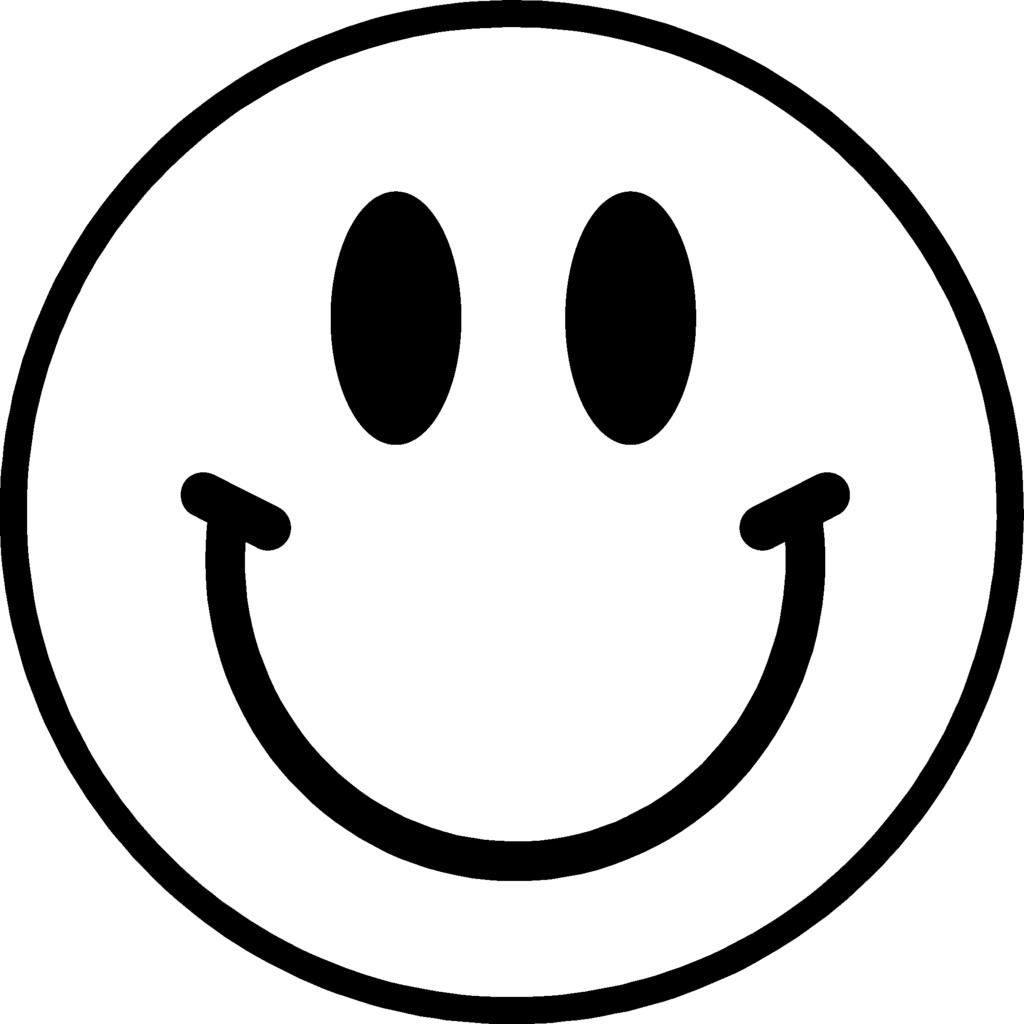 Smiley face clipart black and white no background svg library download Smiley Face Transparent Background | Free download best ... svg library download