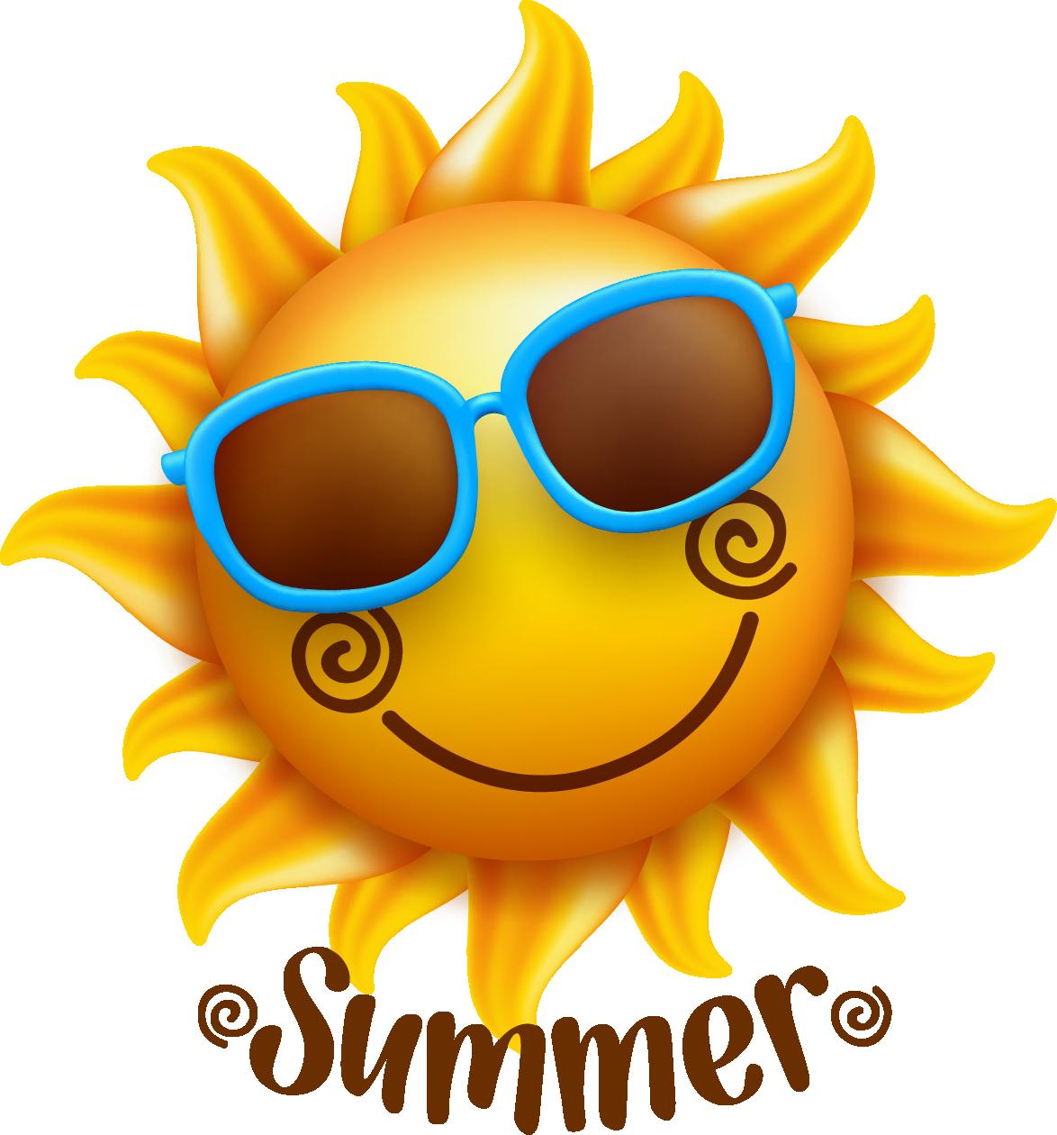 Summer sun clipart vector free download Smiley Face Illustration - Summer sun 1174*1260 transprent Png Free ... vector free download