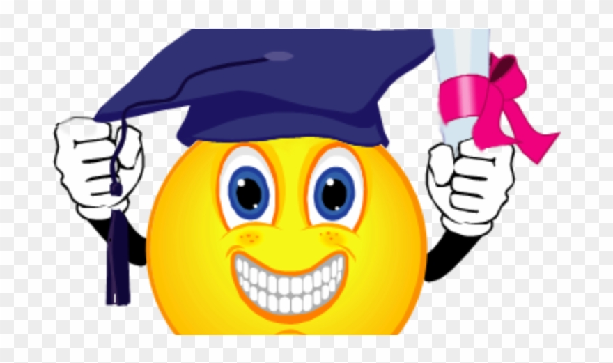 Smiley face graduation clipart graphic free library Scholarship - Graduation Smiley Face Clip Art - Png Download ... graphic free library