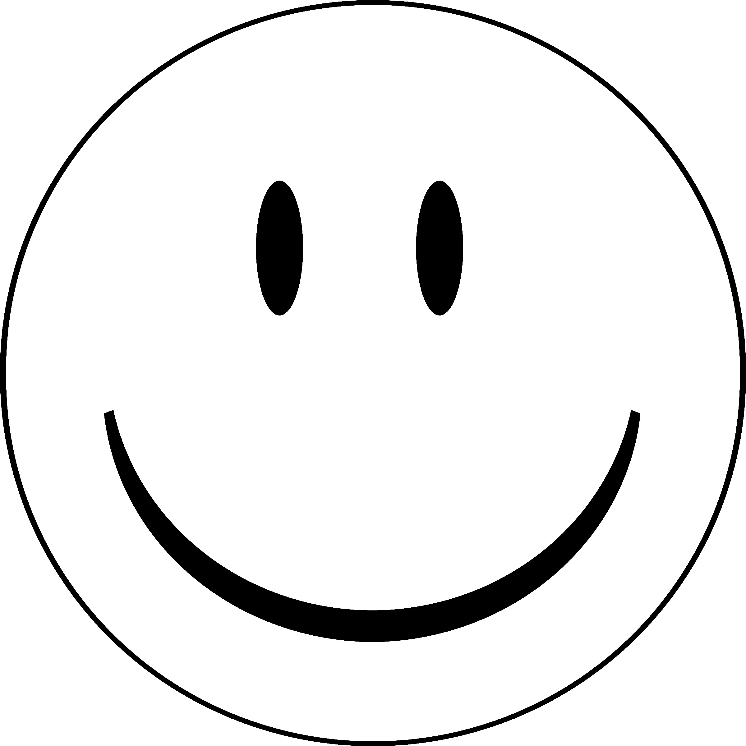 Smiley face outline clipart clip art library stock Happy Face Outline | Free download best Happy Face Outline ... clip art library stock