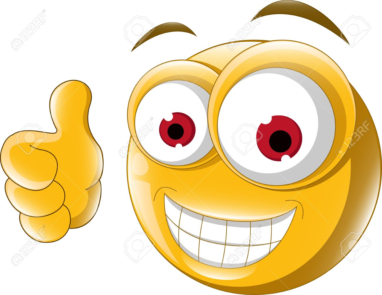 Smiley face thumbs up clipart image Happy face with thumbs up clipart - ClipartFest image