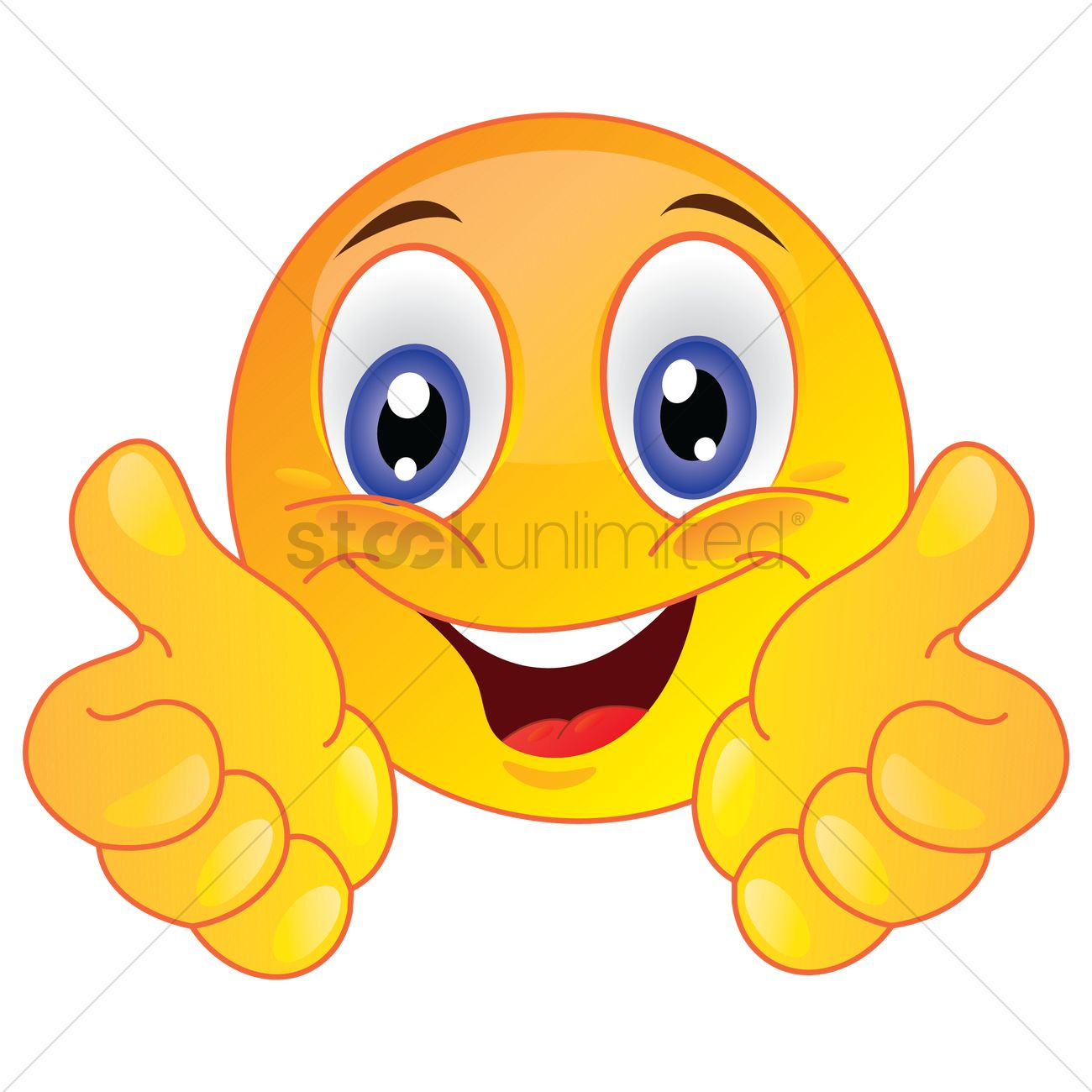 Smiley face thumbs up clipart jpg freeuse download Cartoon chicken with a thumbs up Vector Image - 1514989 ... jpg freeuse download