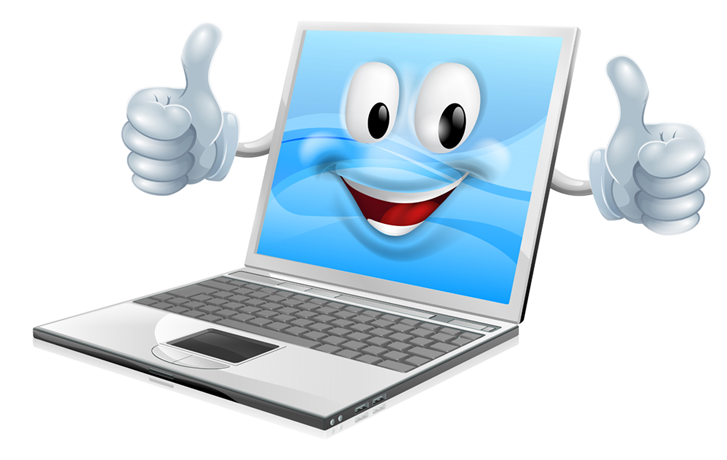 Smiley face with thumbs up clipart vector royalty free Virus and malware removal in Warrington by Ama-Sys vector royalty free