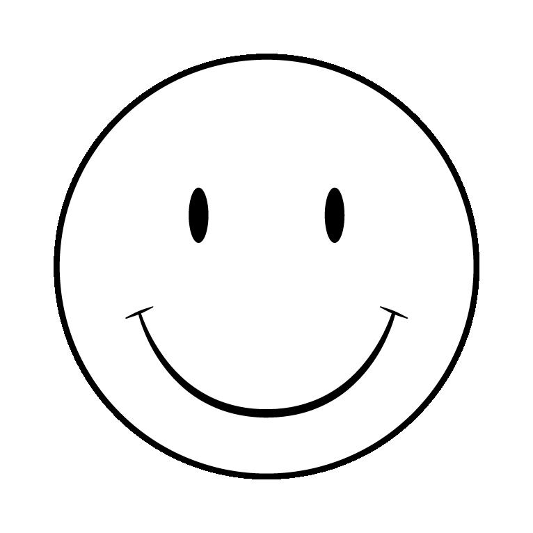 Smiley pumpkin clipart black and white clip black and white smiley faces templates - Tier.brianhenry.co clip black and white
