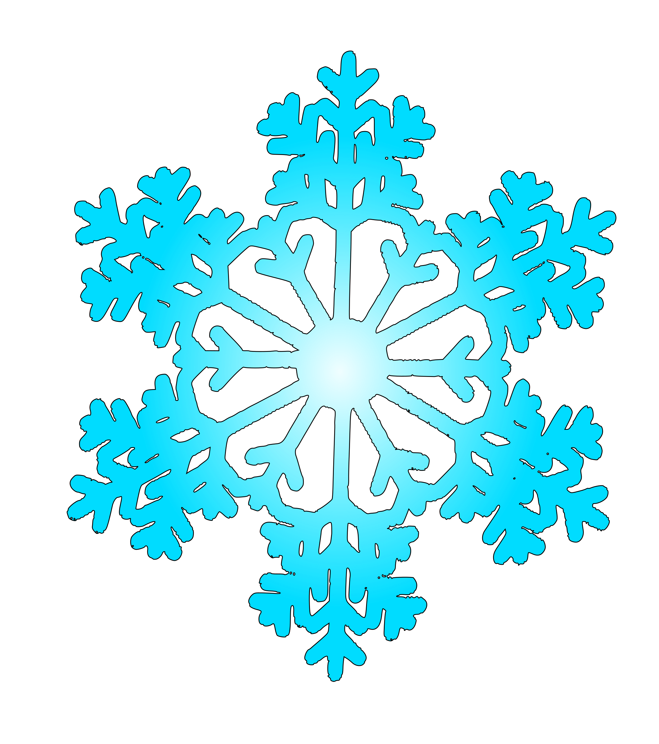 Smiley snowflake clipart image freeuse download Snow clipart flake ~ Frames ~ Illustrations ~ HD images ~ Photo ... image freeuse download