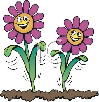 Smiling daisy clipart picture freeuse Smiling Daisy Clip Art Clker Com Vector Online Royalty ... picture freeuse