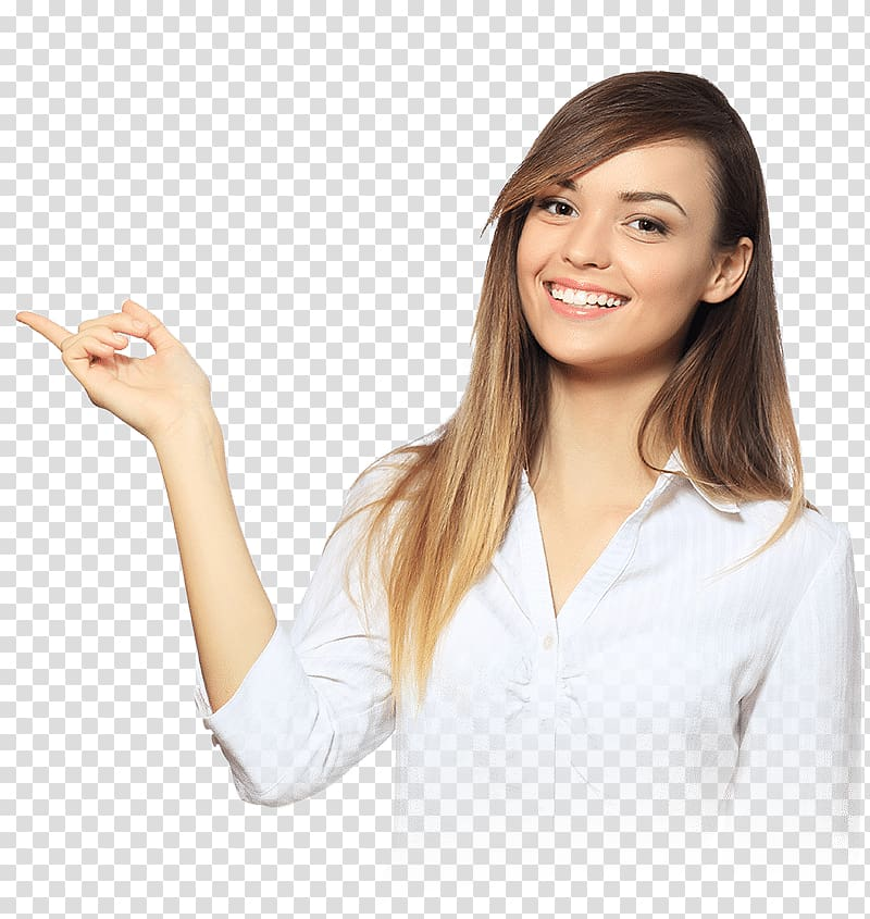 Smiling shirt clipart banner black and white library Smiling woman wearing white dress shirt, Woman ... banner black and white library