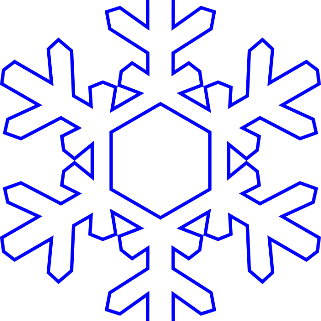 Snowflake border clipart free clip art black and white Snowflake Clipart Free at GetDrawings.com | Free for personal use ... clip art black and white
