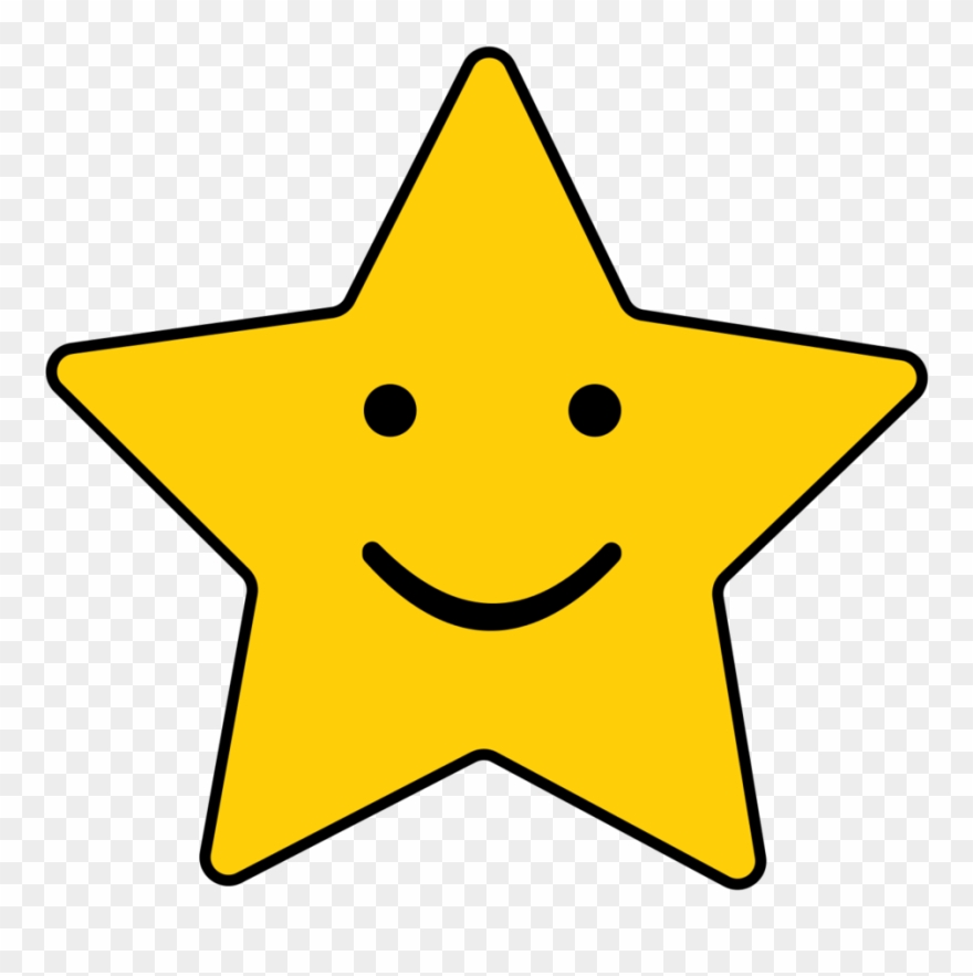 Smiling star clipart black and white transparent jpg transparent download Star Wand Cliparts - Smiling Stars Clipart - Png Download ... jpg transparent download