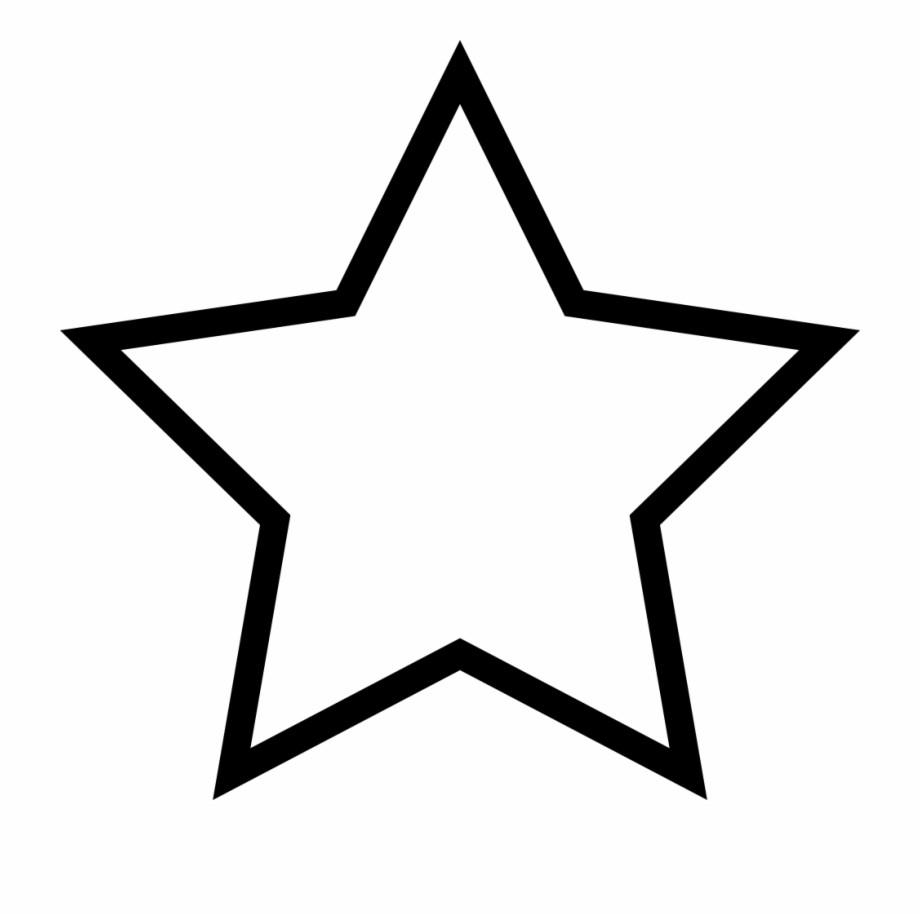 Smiling star clipart black and white transparent png library stock Png File - Transparent Black Star Outline Free PNG Images ... png library stock