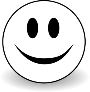 Smiley clipart black and white image royalty free stock PNG Happy Face Black And White Transparent Happy Face Black ... image royalty free stock