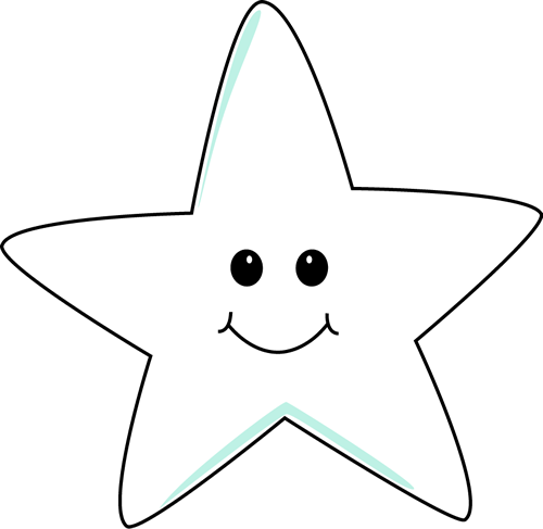 Smiling star clipart black and white transparent picture library download Smiling Star Clip Art - Smiling Star Image picture library download