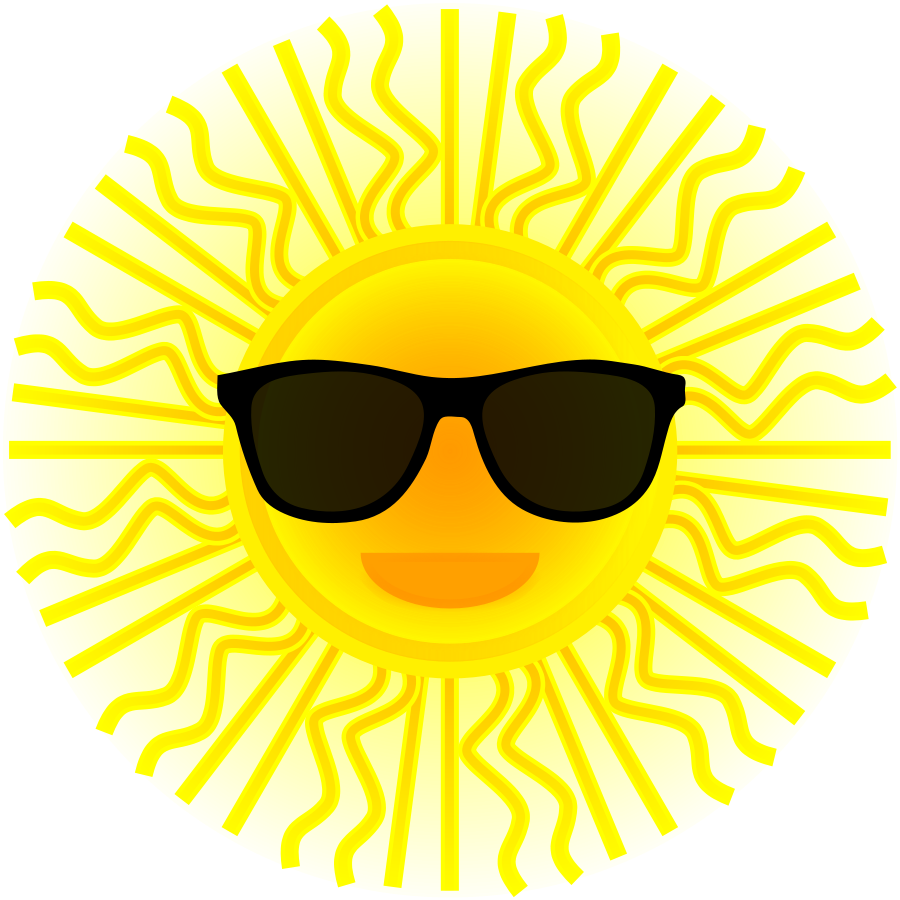 Smiling sun clipart royalty free picture library Free Image Of Sunglasses, Download Free Clip Art, Free Clip Art on ... picture library
