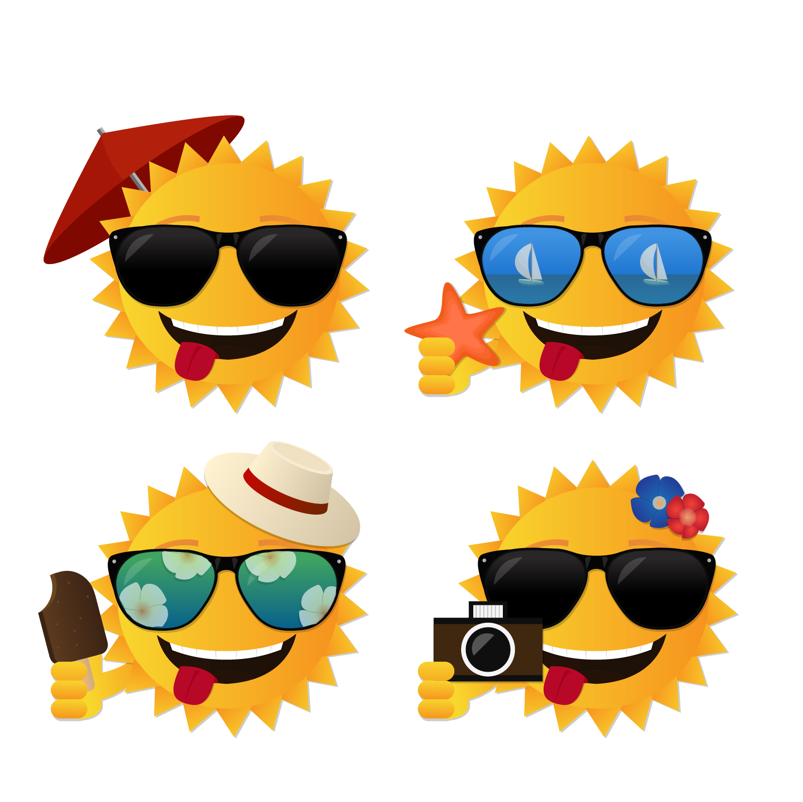 Sun with sunglasses clipart free clipart transparent library Summer vector sun 1656*1655 transprent Png Free Download - Emoticon ... clipart transparent library