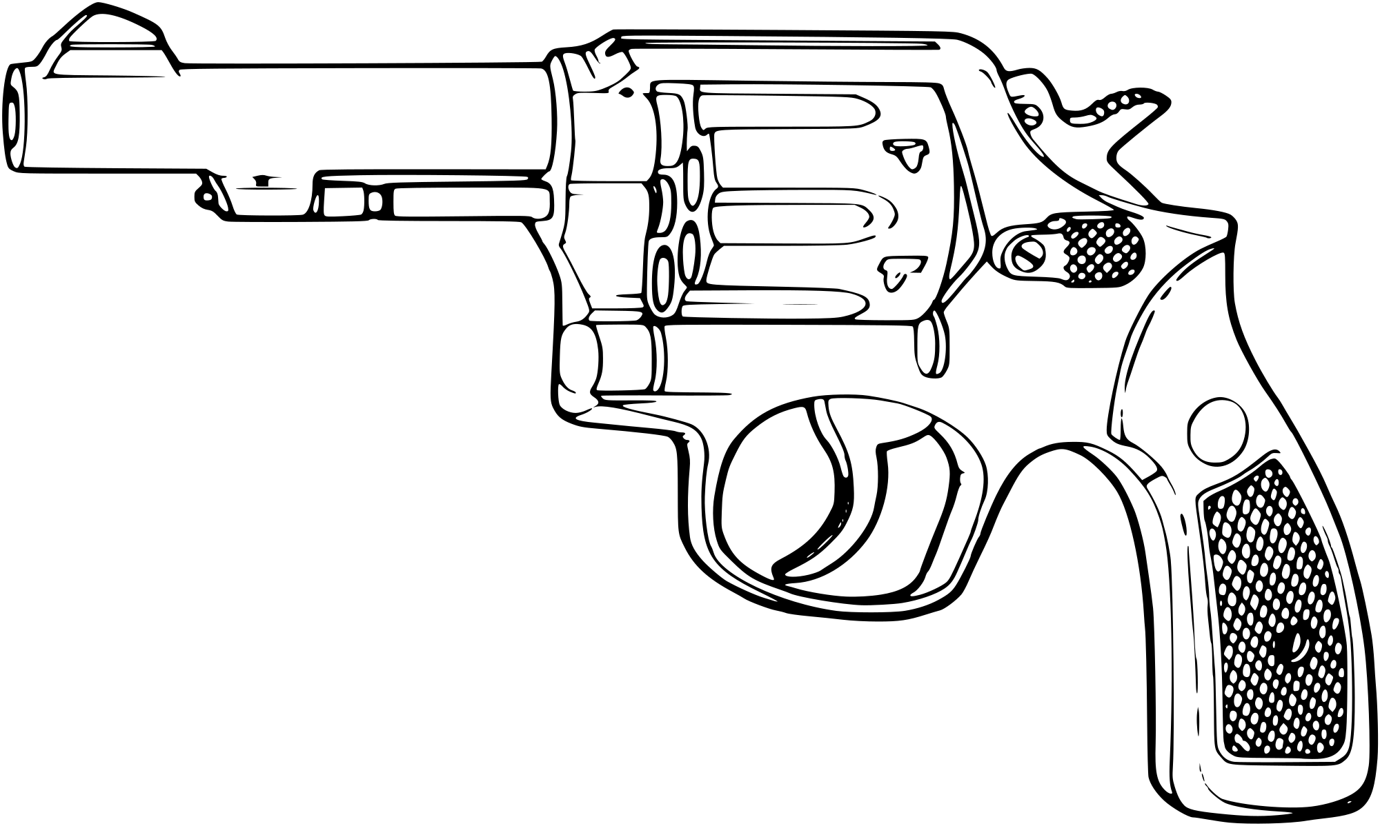 Smith and wesson revolver clipart clip free HD File Smith Wesson - Smith And Wesson Vector , Free ... clip free