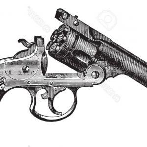 Smith and wesson revolver clipart picture freeuse stock Smith And Wesson Revolver D Model   lamaison picture freeuse stock