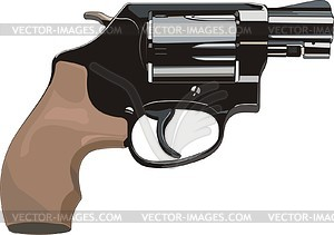 Smith and wesson revolver clipart clipart Revolver Smith & Wesson 36 Lady Smith - vector clipart clipart
