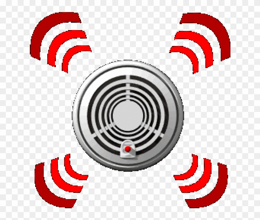 Smoke alarm clipart image black and white Detection Clipart Alarming Fire Alarm Clip Art - Smoke ... image black and white