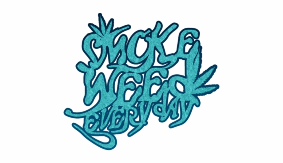 Weed smoke clipart
