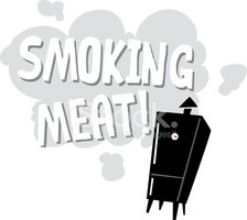 Smoking meats clipart clip freeuse Smoking Meat Graphic stock vectors - Clipart.me clip freeuse