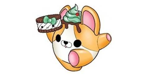 Smooshy mushy clipart vanilla stock Casey Corgi & Sandy Sandwich - Smooshy Mushy Series 3 ... stock