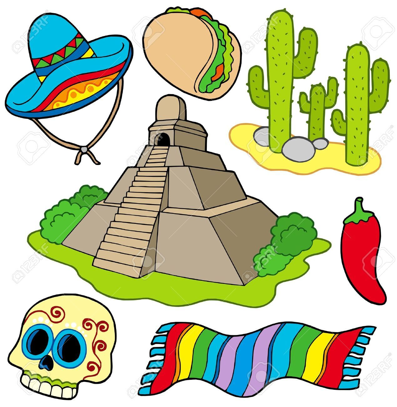 Smothered clipart image black and white library Mexican Culture Clipart   mexican culture   Mexican, Clip ... image black and white library