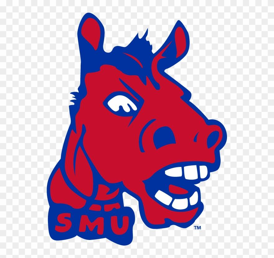 Smu Vintage Mascots Pinterest - Smu Mustangs Retro Logo ... clip download