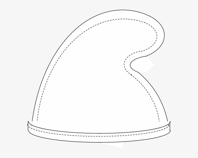 Smurf hat clipart png download Smurf Hat - Seven Dwarf Hat Template Transparent PNG ... png download