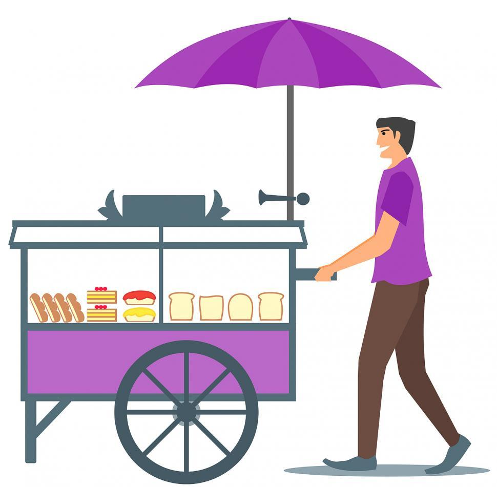 Snack cart clipart clipart royalty free download Get Free Stock Photos of Pushed pastry cart Online ... clipart royalty free download
