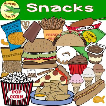 Snack food pictures clipart picture library library Snack Food Clip Art picture library library