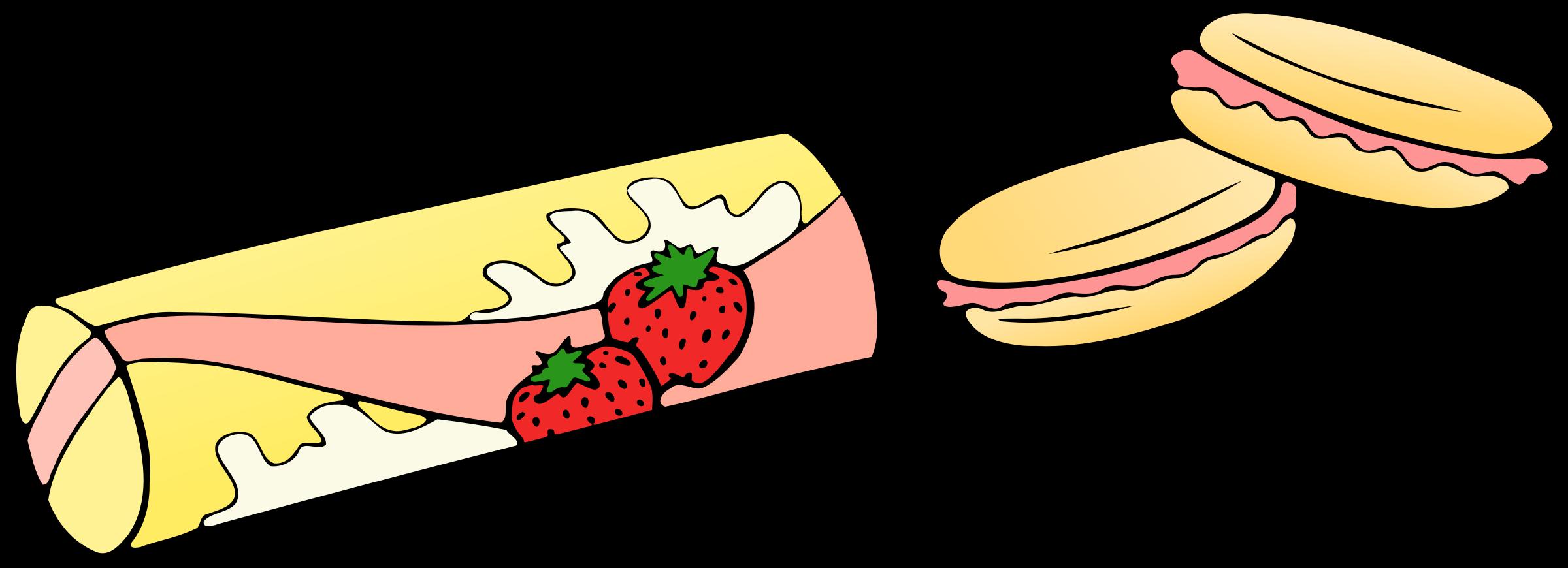 Snacks vector clipart clip art Strawberry Snacks Vector Clipart image - Free stock photo ... clip art
