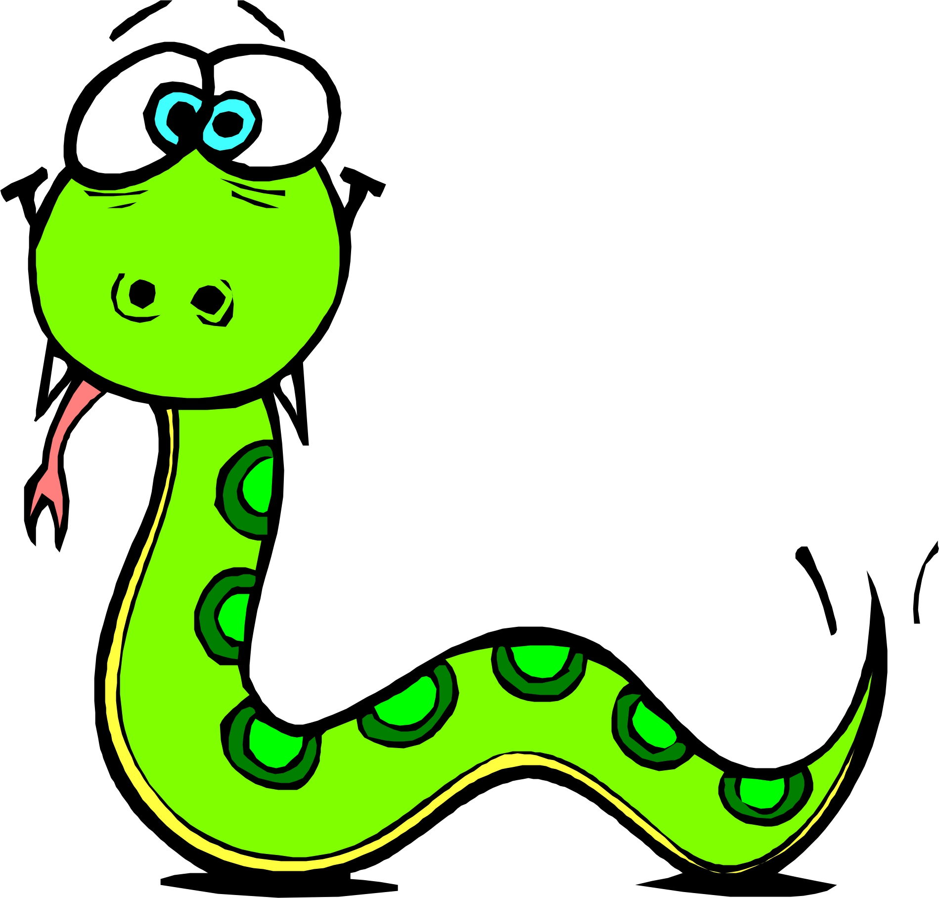 Snake cartoon clipart svg royalty free stock Free Cartoon Snakes Pictures, Download Free Clip Art, Free ... svg royalty free stock