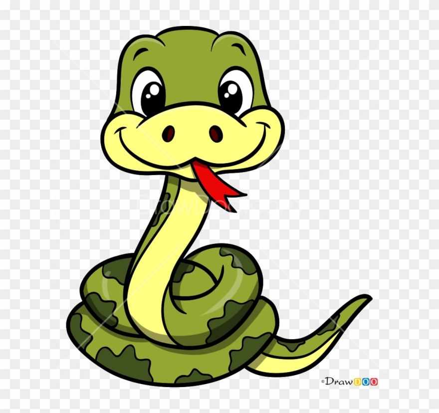 Snake cartoon clipart graphic library stock How To Draw Snake - Drawing Of A Snake Cartoon Clipart ... graphic library stock