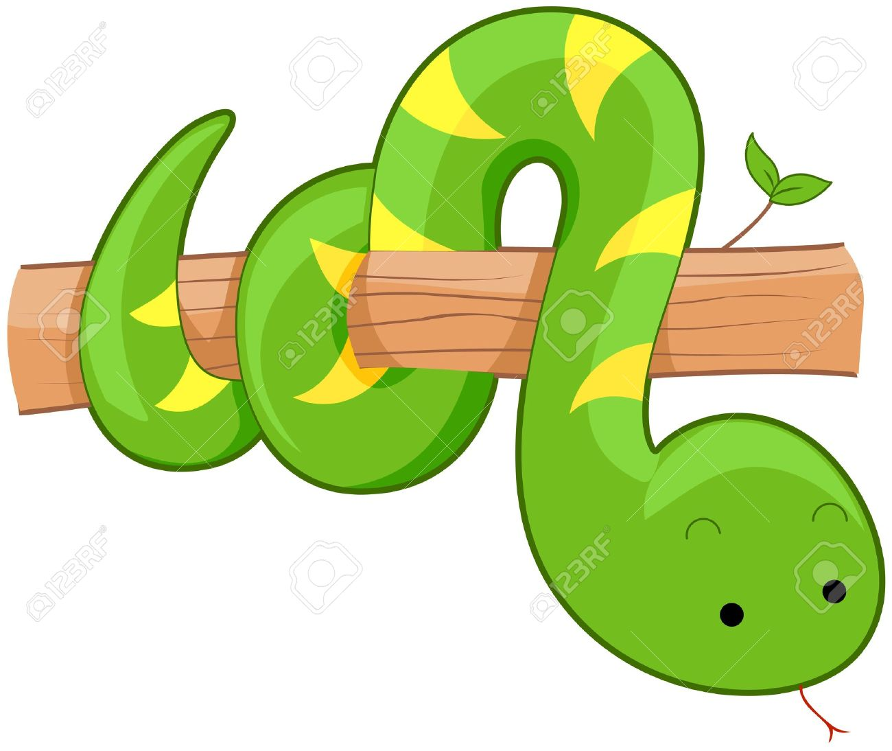 Snake coiled around a branch black and white clipart clipart black and white download Cute Snake Clipart | Free download best Cute Snake Clipart ... clipart black and white download