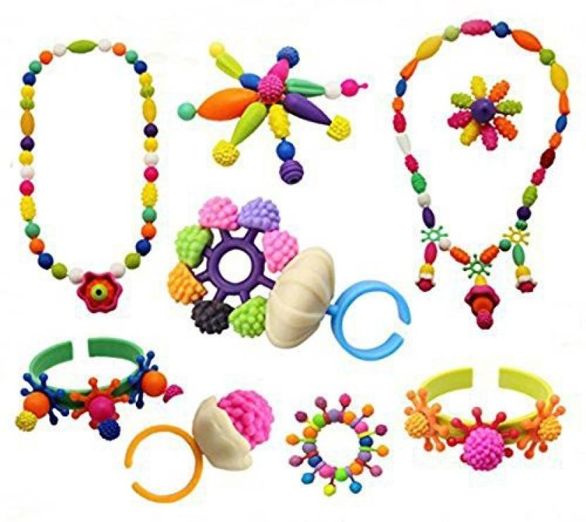 Snap ring chain toys free clipart jpg library stock Generic Kids Pop Snap Beads Set - Christmas decorations DIY ... jpg library stock