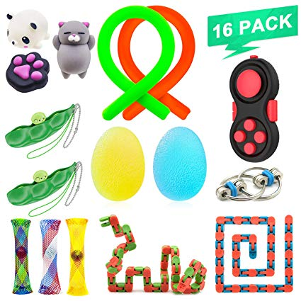 Snap ring chain toys free clipart clipart royalty free stock NANAHouse™ 16 Pack Increase Focus Relieves Stress Bundle Sensory Fidget  Toys-Fidget Chain/Cube/Ring,Infinity Cube,Wacky Tracks Snap,Twisted Fidget  ADD ... clipart royalty free stock